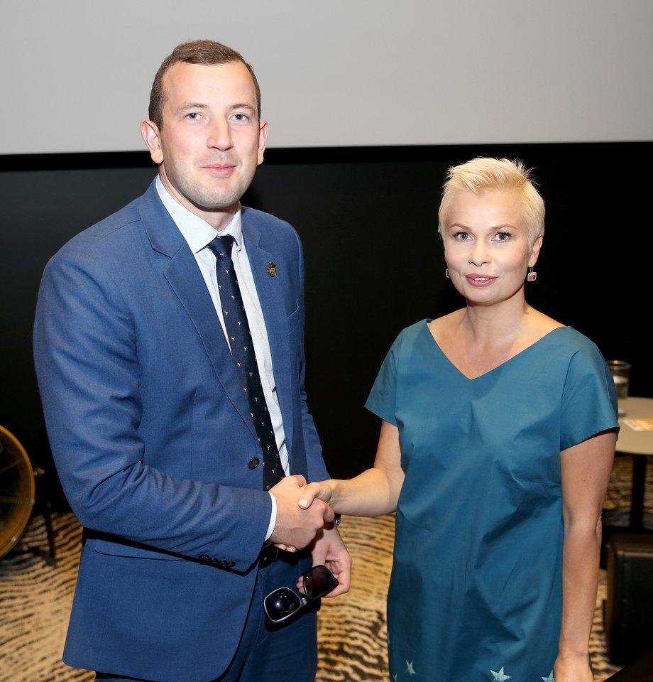 """""""Galimai Seimas yra vienintelė vieta, kur patekti nėra kvalifikacinių reikalavimų"""", – sako Ateities politikų akademijos sumanytoja dr. Erika Godlevska.<br>Organizatorių nuotr."""