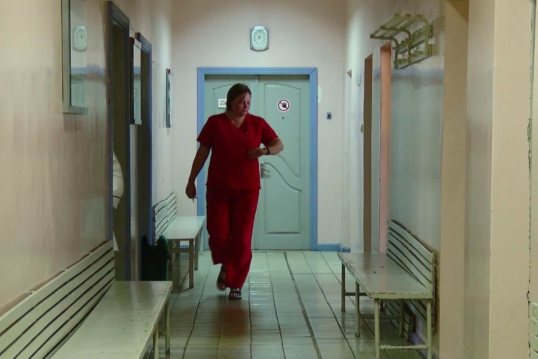 Streikuoja kalinimo įstaigų medikai – sąlygos pavojingos, o atlyginimai nekyla. Medicinos darbuotojams nerimą kelia ir nežinomybė dėl ateities.<br>T.Šileikio nuotr.