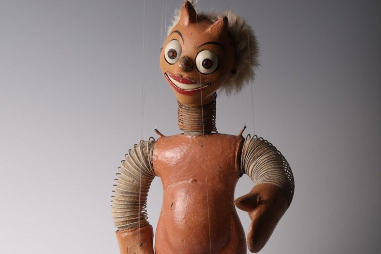 S.Ušinsko lėlės stebina meninių ir sudėtingų techninių sprendimų deriniais.<br>LTMKM nuotr.
