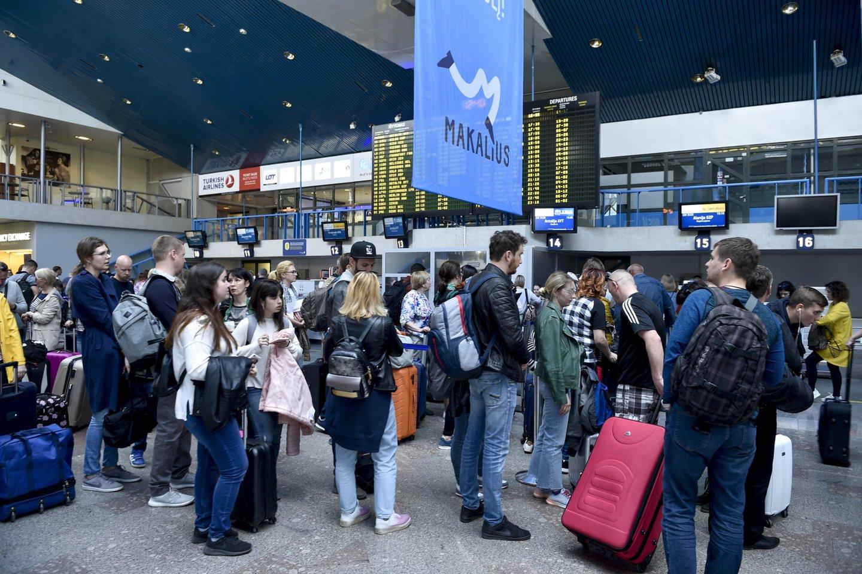 Šią vasarą tikimasi didžiausių eismo spūsčių Europos oro erdvėje ir oro uostuose.<br>V.Ščiavinsko nuotr.