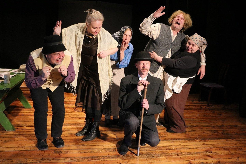 "Estijos teatras ""Joelahtme Lavagrupp"".<br>Organizatorių nuotr."