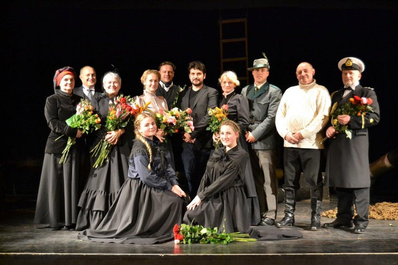 Priekulės Ernsto Vicherto teatras.<br>Organizatorių nuotr.