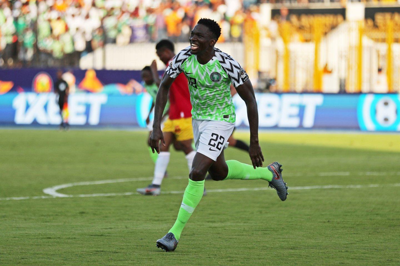 Nigerija sunkiai įveikė Gvinėją.<br>AFP/Reuters/Scanpix nuotr.