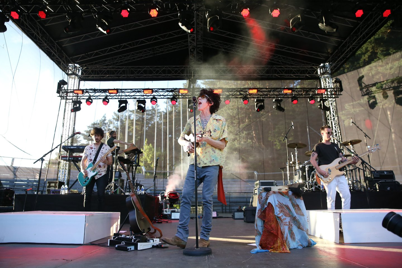 Amerikiečių dainininkė LP Kalnų parke pristatė naują albumą.<br>R.Danisevičiaus nuotr.