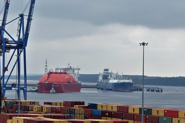 """""""Achemos grupė"""" skeptiškai vertina ministerijos pažadus nuo liepos sumažinti Klaipėdos SGD terminalo išlaikymo kaštus vartotojams.<br>""""Klaipėdos naftos"""" nuotr."""