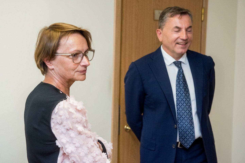 L.Lubienė ir G.Balčiūnas.<br>D.Umbraso nuotr.