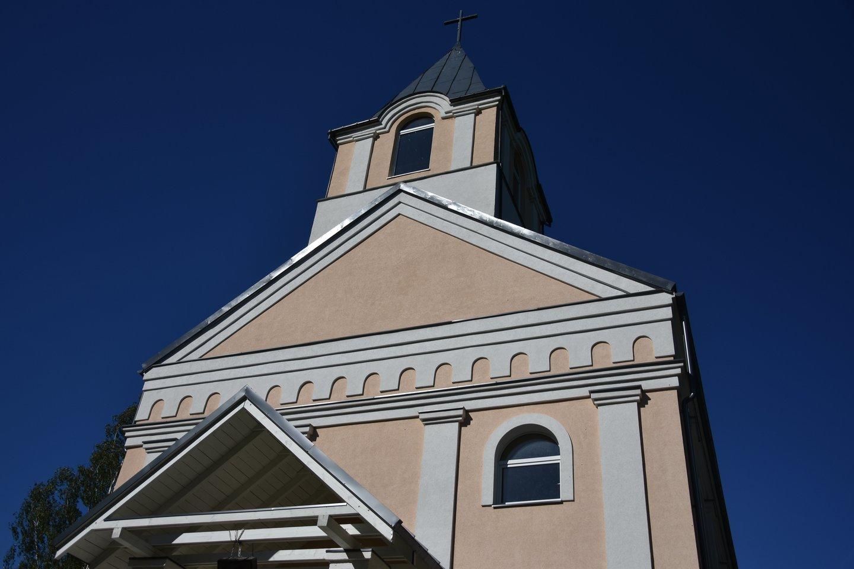 Šv. Antano Paduviečio bažnyčia restauruota 2014 metais.<br>A.Srėbalienės nuotr.