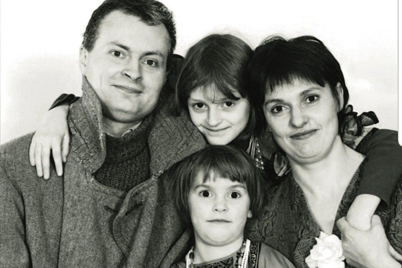 Šeima – išrinkotojo prezidento ramstis.<br>Asmeninio albumo nuotr.