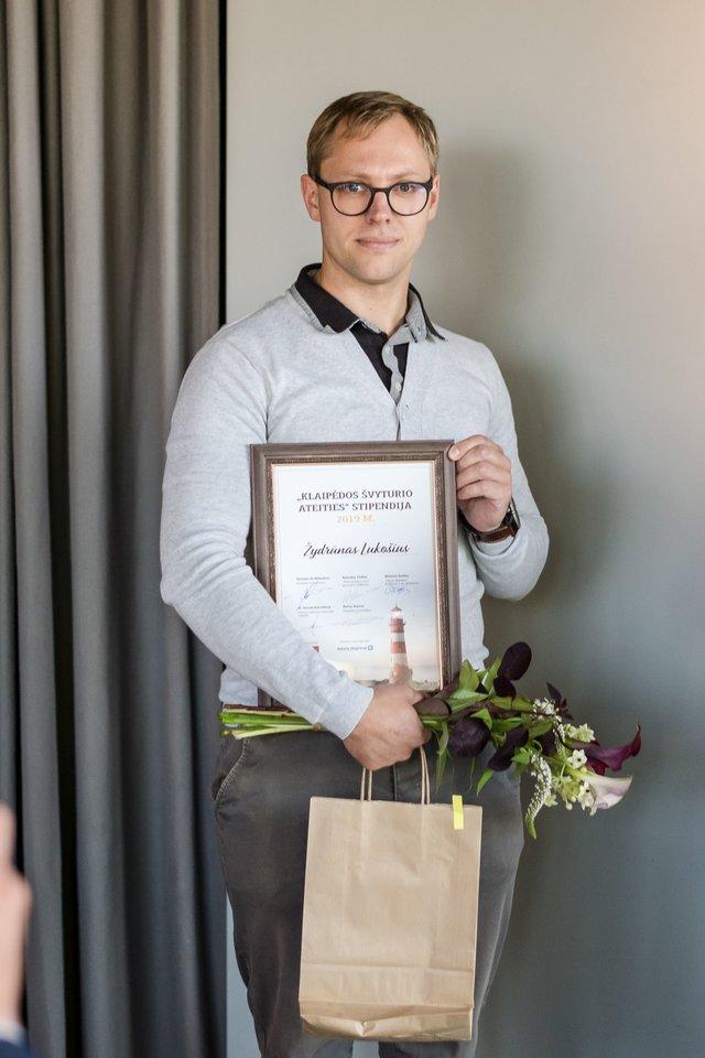 Klaipėdos universiteto doktorantas Ž.Lukošius<br>Organizatorių nuotr.