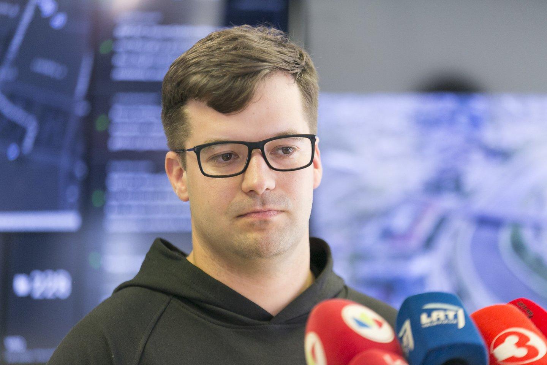 Vilniaus miesto savivaldybės administracijos direktorius Povilas Poderskis.<br>T.Bauro nuotr.