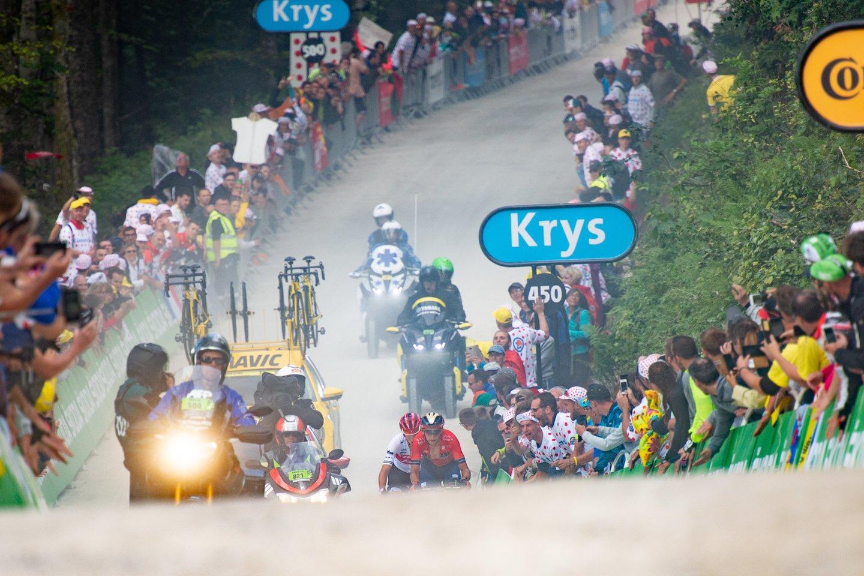 """106-ųjų daugiadienės """"Tour de France"""" dviračių lenktynės<br>AFP/Reuters/ Scanpix nuotr."""