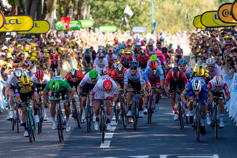 """106-ųjų daugiadienės """"Tour de France"""" dviračių lenktynės<br>Reuters/Scanpix nuotr."""