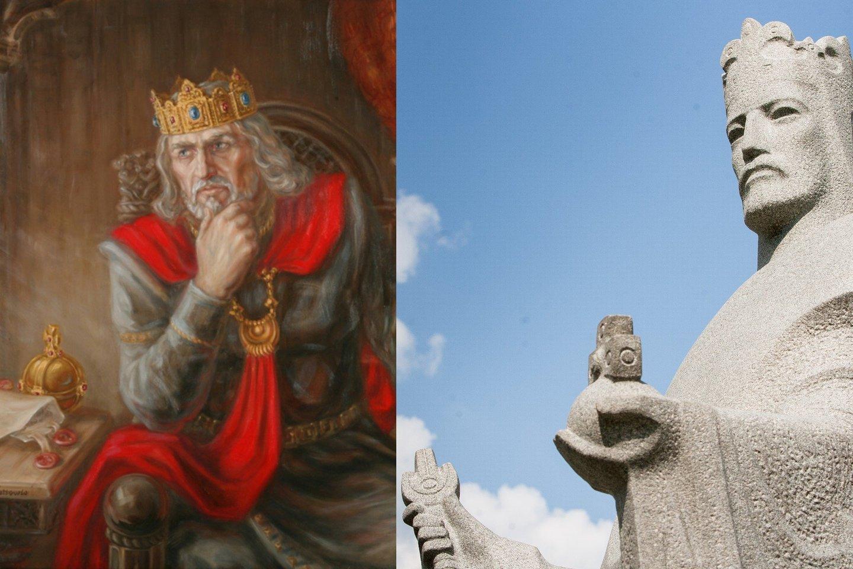 Karalius Mindaugas.<br>Archyvo nuotr.