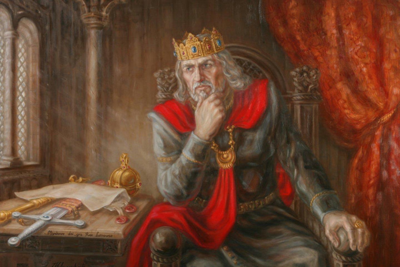 Karalius Mindaugas.