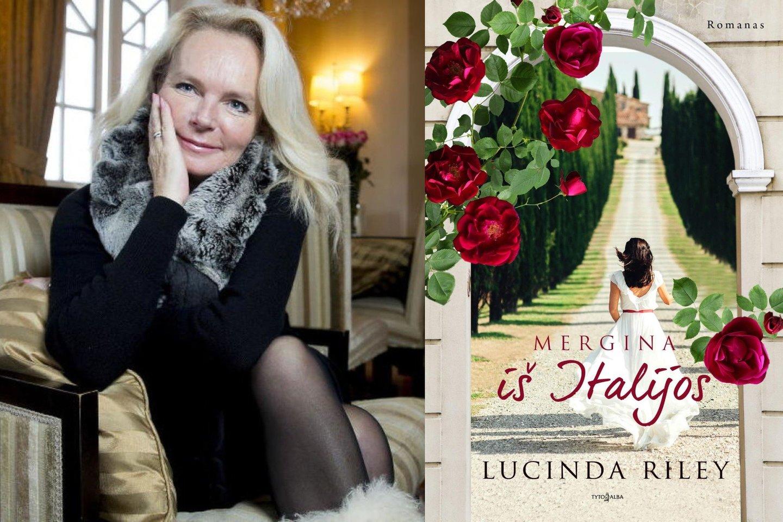 """Kol L.Riley rašo šeštąją ciklo istoriją, leidykla """"Tyto alba"""" pristato jos romaną apie operą ir meilę – """"Mergina iš Italijos"""".<br>Leidyklos nuotr."""