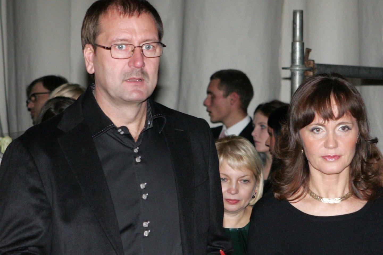 V.Uspaskichas ir J.Blažytė 2009-aisiais.<br>V.Balkūno nuotr. i