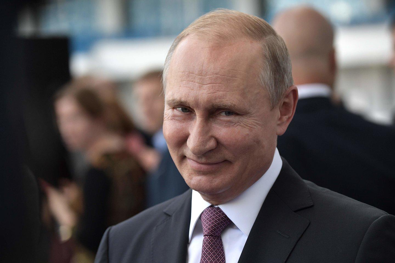 """Paaiškėjus, kad""""FaceApp"""" kūrėjai yra rusai, internete kilo panika.<br>AFP / Scanpix nuotr."""