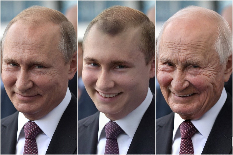 """Paaiškėjus, kad""""FaceApp"""" kūrėjai yra rusai, internete kilo panika.<br> AFP / Scanpix / FaceApp nuotr."""