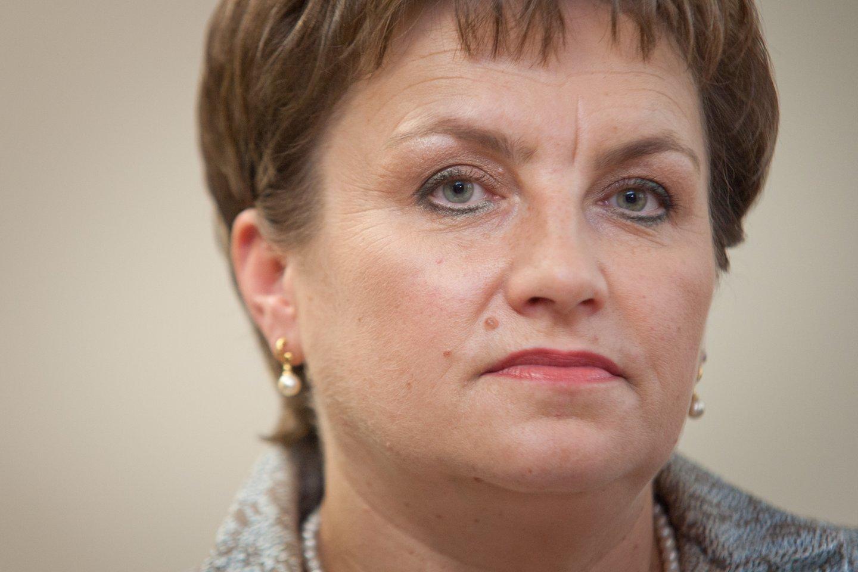 Lietuvos vaistinių asociacijos pirmininkė Dangutė Mikutienė<br>D.Umbraso nuotr.