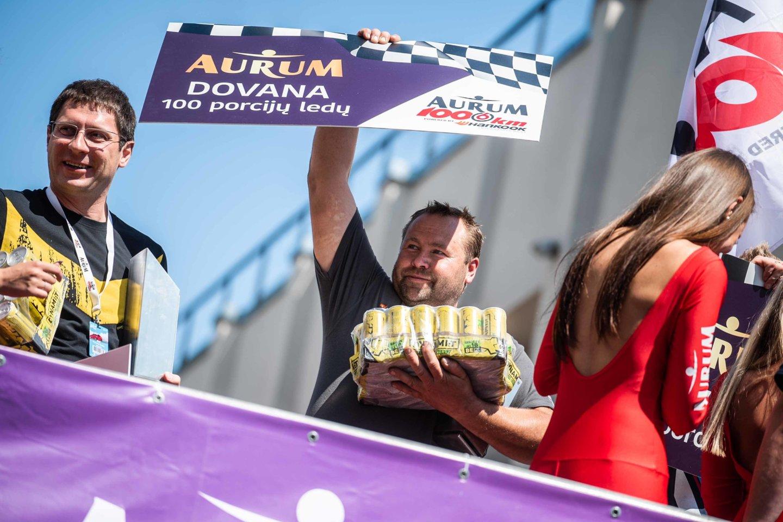Sprinto lenktynių nugalėtojai.<br>Arno Strumilos nuotr.