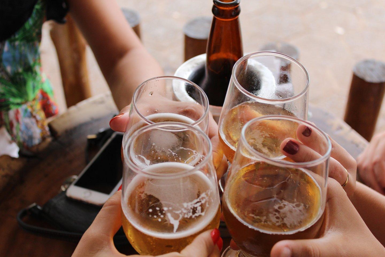 Aludariai tvirtina: alus neturi ribų ir sienų, jis sujungia visas kultūras.<br>Pranešimo autorių nuotr.