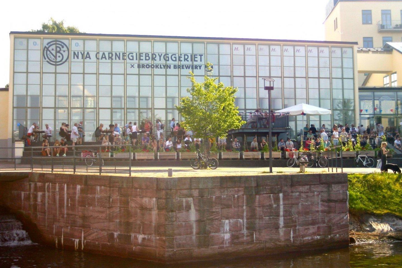 """""""New Carnegie"""" alaus darykla Švedijoje.<br>Pranešimo autorių nuotr."""