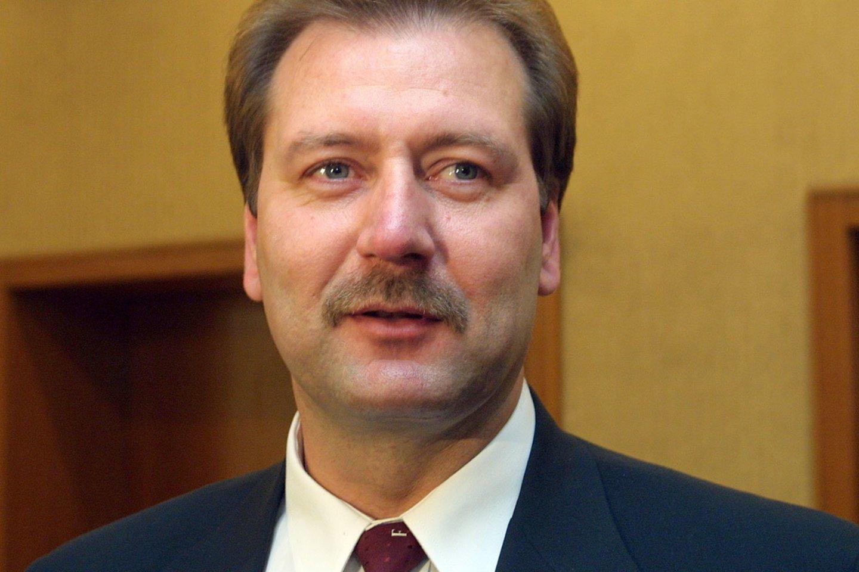 Viktoras Uspaskichas 2001-aisiais.<br>P.Lileikio nuotr.