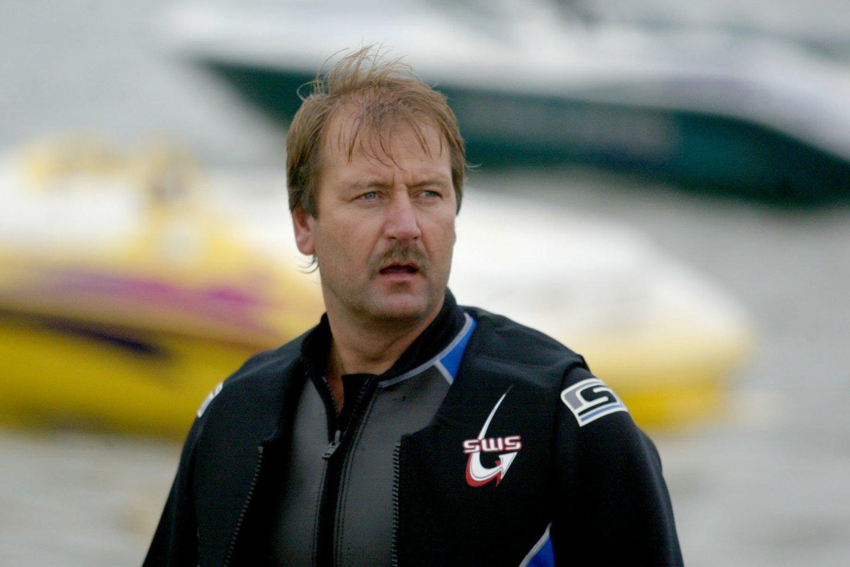 Viktoras Uspaskichas pajūryje 2004-aisiais.<br>M.Vidzbelio nuotr.