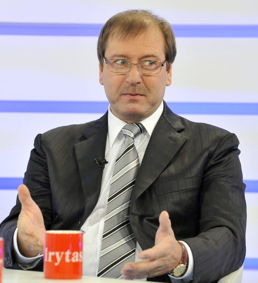 Viktoras Uspaskichas 2010-aisiais.<br>R.Neverbicko nuotr.