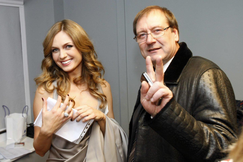 Asta Valentaitė ir Viktoras Uspaskichas 2010-aisiais.<br>R.Danisevičiaus nuotr.