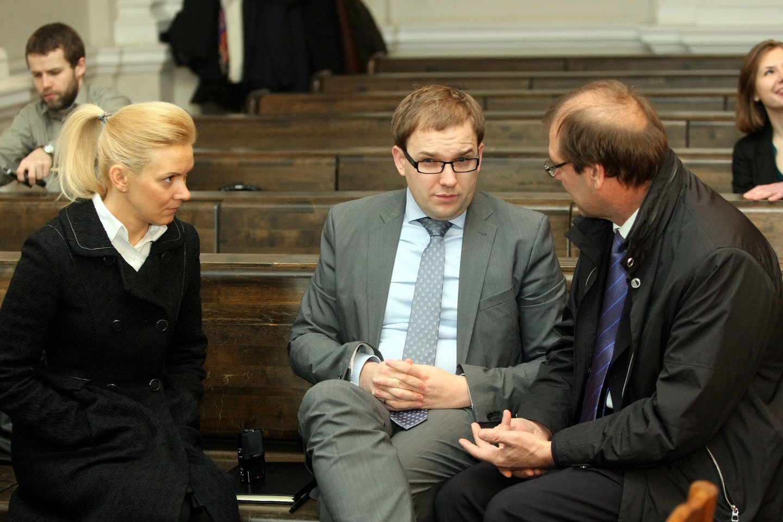 Vitalija Vonžutaitė, Vytautas Gapšys ir Viktoras Uspaskichas 2012-aisiais.<br>R.Danisevičiaus nuotr.