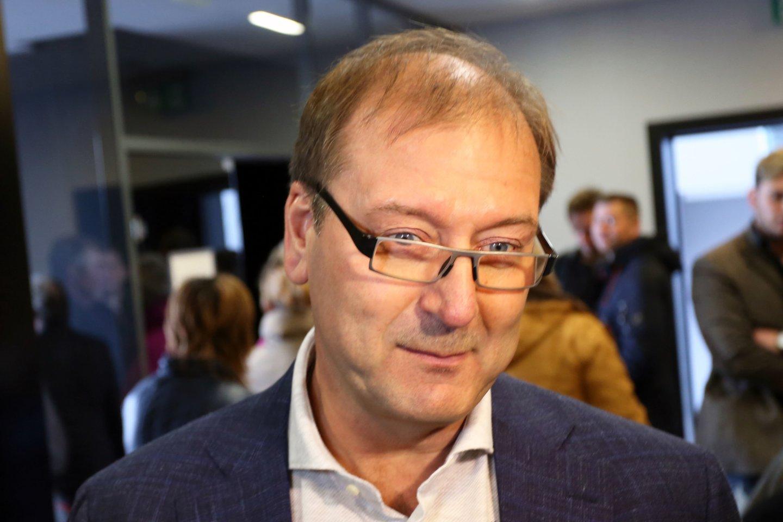 Viktoras Uspaskichas 2017-aisiais.<br>M.Patašiaus nuotr.