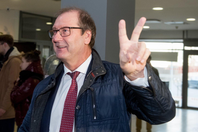 Viktoras Uspaskichas 2019-aisiais.<br>D.Umbraso nuotr.