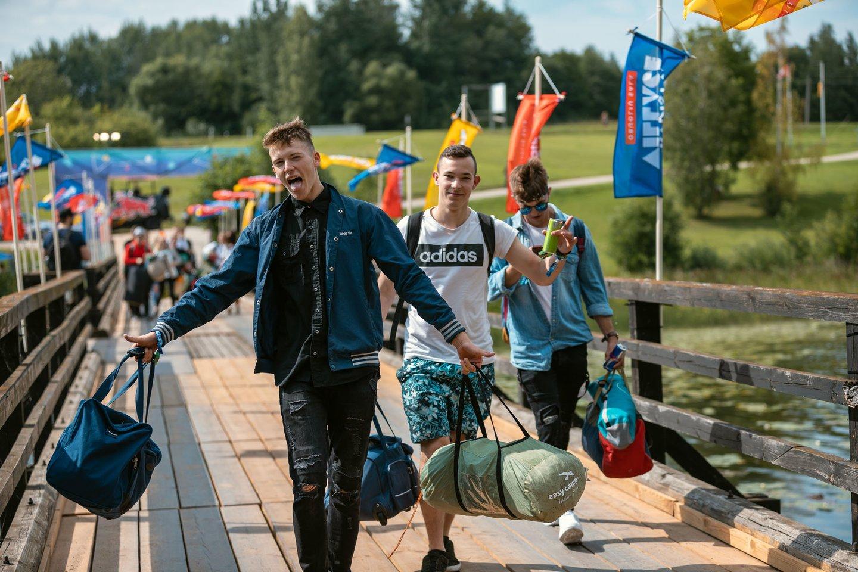Radistų festivalio dalyviai.<br>L.Grusecko nuotr.