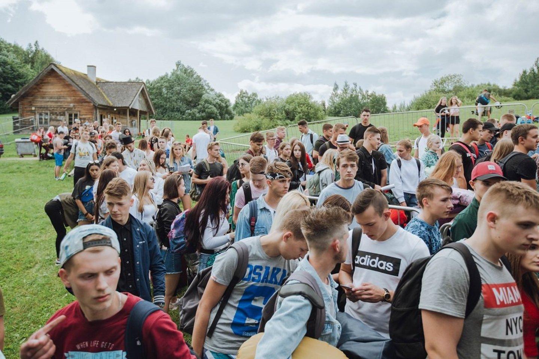 Radistų festivalio dalyviai.<br>Fototakas.lt nuotr.