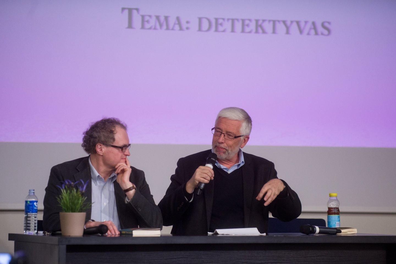 L.Donskis ir A.Šileika.<br>J.Stacevičiaus nuotr.