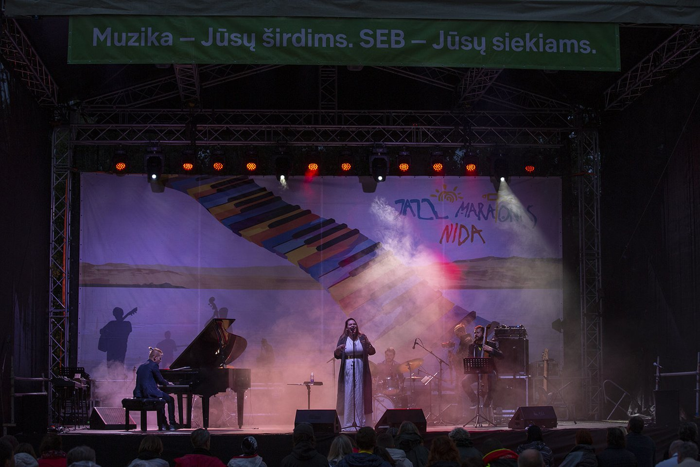 Nidos džiazo festivalis.<br>M.Levino nuotr.