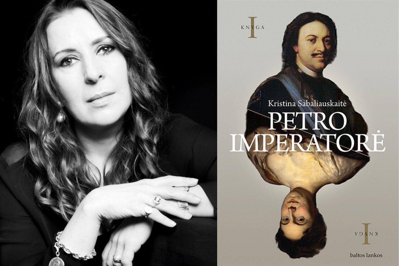 K.Sabaliauskaitė ir jos naujas romanas.<br>P.Gasiūno nuotr.