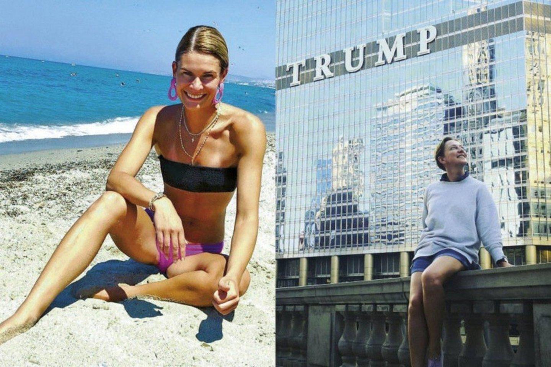 Austėja Jablonskytė ir Giedrė Talmantienė.<br>Socialinio tinklo nuotr.