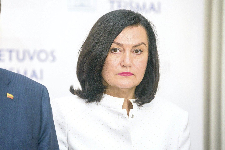 Pareiškęs nušalinimą teisėjos L.Braždienės (nuotraukoje) vadovaujamam Vilniaus apygardos teismui J.Elzbergas sulaukė smūgio.