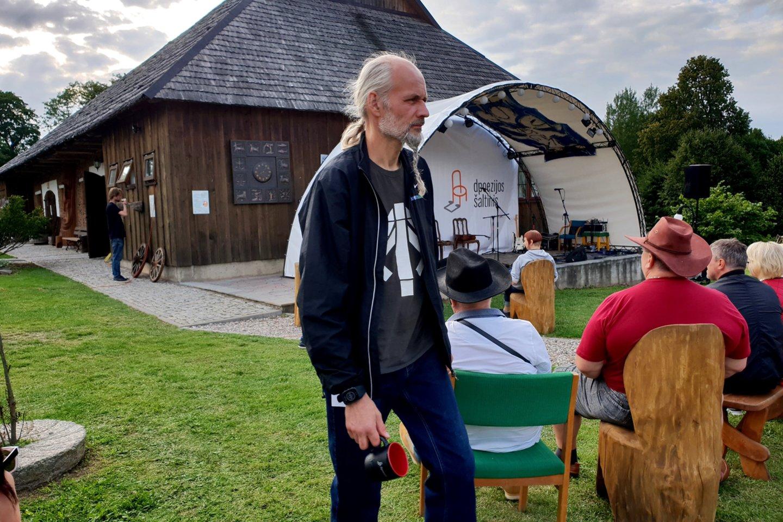 Festivalio akimirka.<br>Irenos Berštienės, Andriejaus Radčenko, Eglatės Smilgos ir Sondros Simanos nuotr.