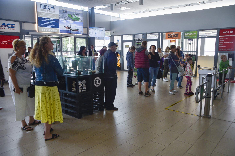 Palangos oro uosto pertvarka yra projektavimo stadijoje.<br>V.Ščiavinsko nuotr.