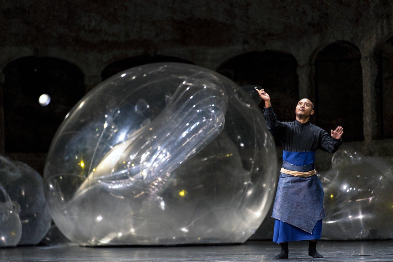 """W. A. Mozarto """"Idomenėjas"""" Zalcburgo festivalyje.<br>R.Walz (Salzburger Festspiele) nuotr."""