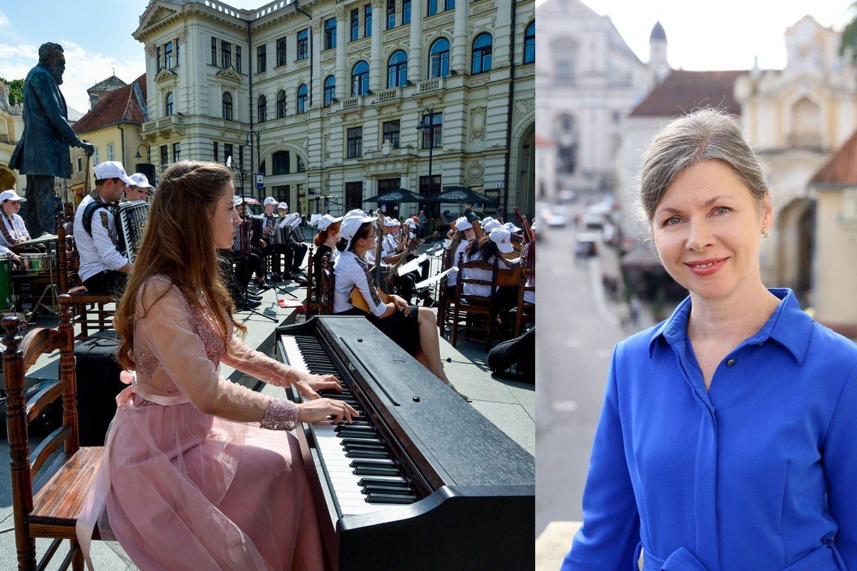 R.Prusevičienei 79-asis Nacionalinės filharmonijos sezonas ypatingas.<br>R.Danisevičiaus ir V.Ščiavinsko nuotr.