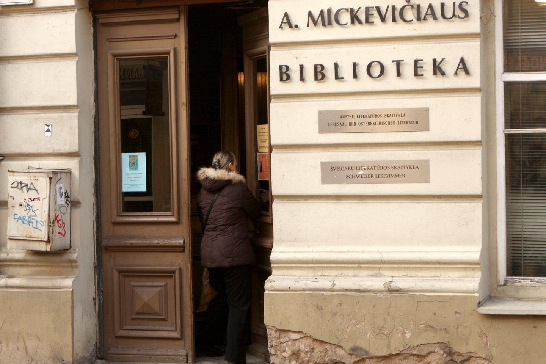 Adomo Mickevičiaus biblioteka.