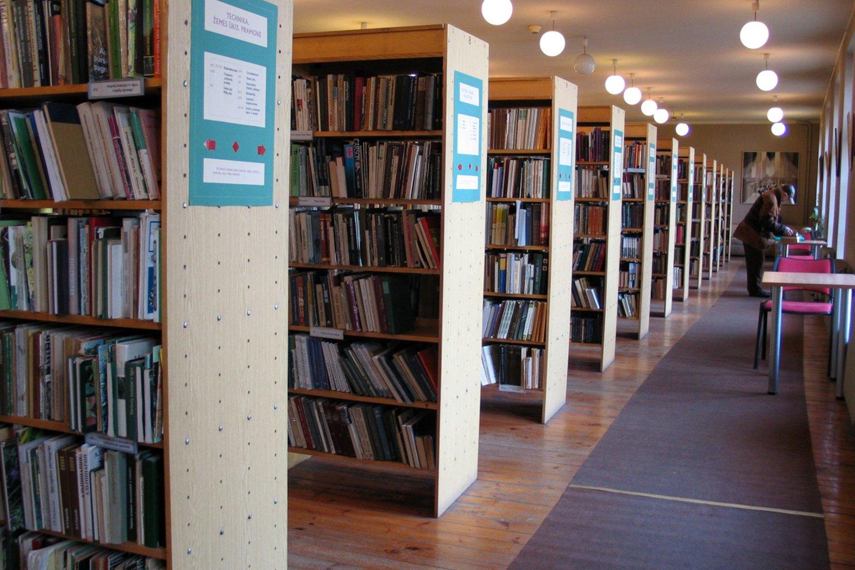 Adomo Mickevičiaus biblioteka.<br>V.Kapočiaus nuotr.