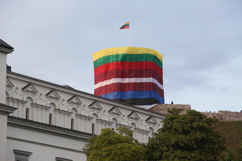 Baltijos kelias yra Estijos, Latvijos ir Lietuvos bendros kovos už laisvę produktas.<br>R.Danisevičiaus nuotr.
