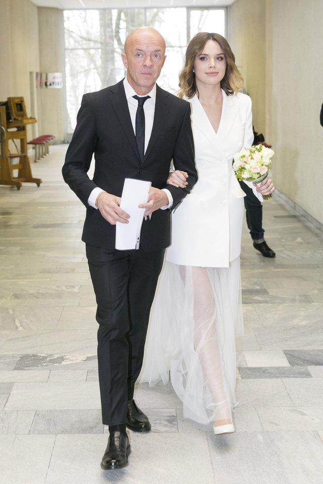 Ramūno ir Justinos vestuvės.<br>LR archyvo nuotr.