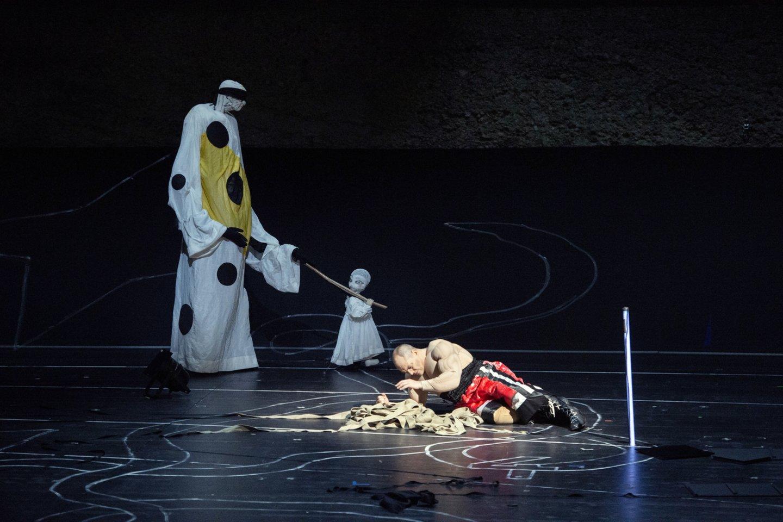 "G.Enescu opera""Edipas""Zalcburgo festivalyje.<br>M.Rittershaus (Salzburger Festspiele) nuotr."