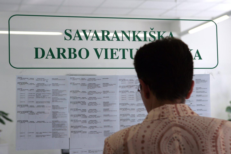 Tarp darbdavių reikalavimų – ir užsienio kalbos.<br>V.Balkūno nuotr.